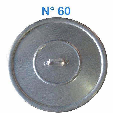 Tampa Avulsa N° 60 de Alumínio com Alça