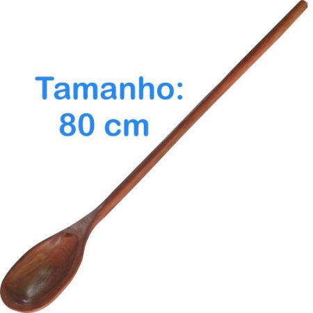 Colher de Madeira 80cm