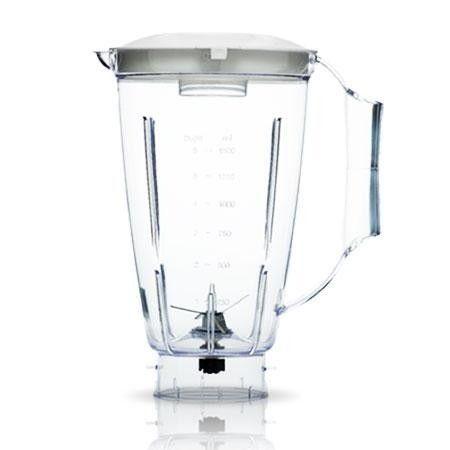 Copo de Liquidificador Arno Faciclic Clean Cristal com Faca