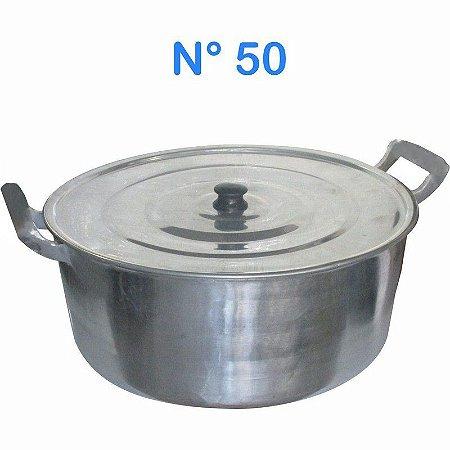 Panela Caçarola de Alumínio Fundido Alumínio Batido N° 50