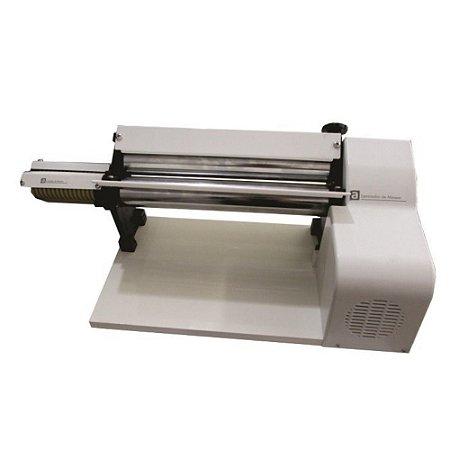 Cilindro Laminador De Massas Pastel Salgados Pizza 37cm 1/3 Cv Motor Elétrico