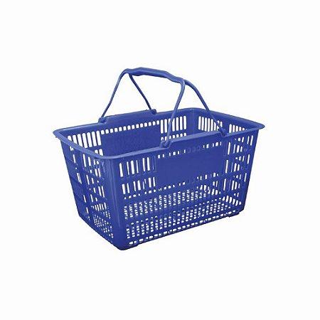 Cesta Pratica Plastica Azul
