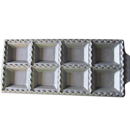 Forma Para Mini Pastel Em Alumínio Fundido 8 Cavidades