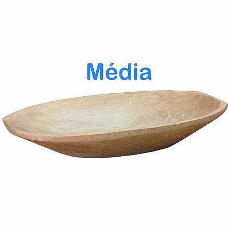 Gamela de Madeira Média 44x22cm