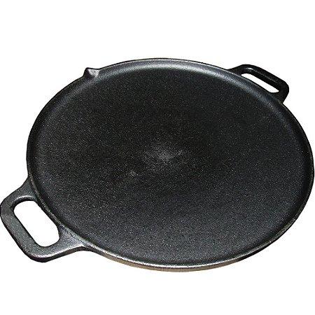 Disco Picanha Carreteiro Tachada tropeiro no fogão ou na brasa em Ferro Fundido 30cm