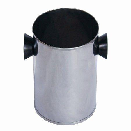 Forma Molde Torre De Batata Bacon Calabresa Aço Inox 17cm
