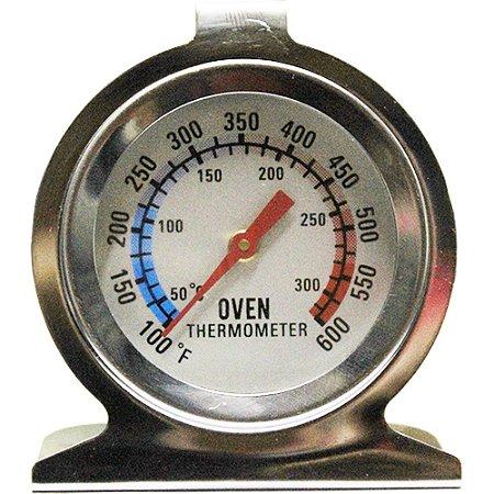 Termômetro Grelha,Forno e lava louça 300° Cromado Com Base