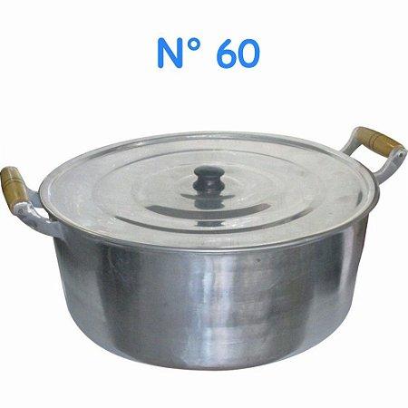 Panela Caçarola Alumínio Fundido Grande N° 60