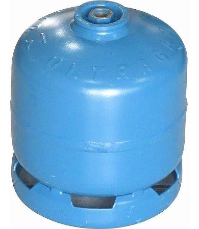 Botijão P2 Pequeno Ultragaz Azul 2kg