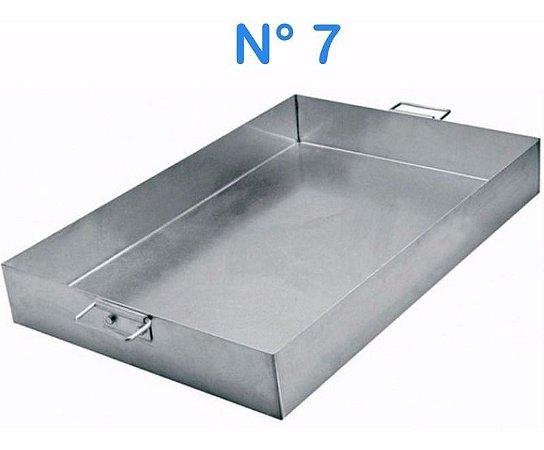 Forma Assadeira De Alumínio N° 7 55 X 37 Linha Hotel Alças