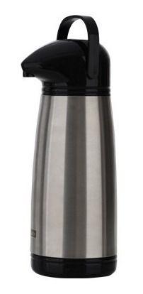Garrafa Térmica Para Café Em Inox Com Ampola De Vidro 1.8l
