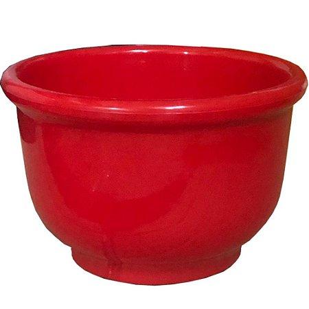 Tigela Cumbuca Pote Plastico Vermelho Caldos Saladas 750 Ml