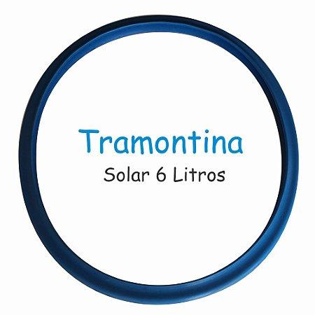 Borracha de Panela de Pressão Tramontina Solar 6 Litros Silicone Azul