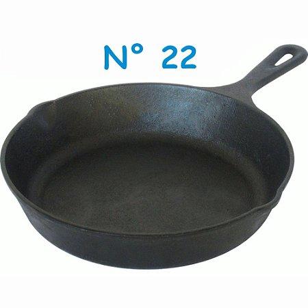 Frigideira em Ferro Fundido Líder N° 22