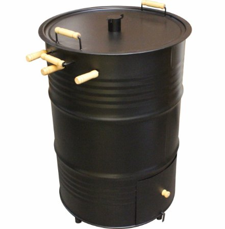 Churrasqueira Defumador Vertical Tambor 200 Litros