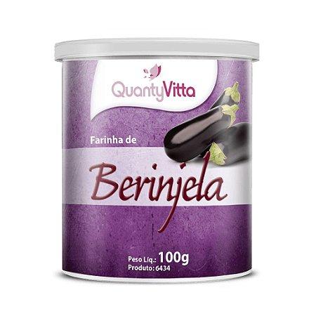 Farinha de Berinjela - 100g - QuantyVitta