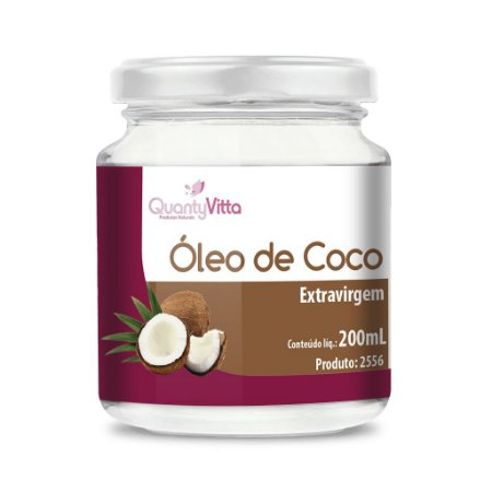 Óleo de Coco Extravirgem - 200ml - QuantyVitta