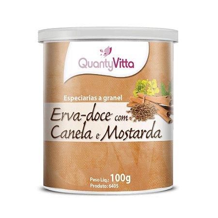 Erva-doce com Canela e Mostarda - Especiarias a granel - 100g - QuantyVitta