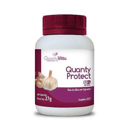 Quanty Protect - Óleo de Alho em cápsulas - 60 cápsulas - 27g - QuantyVitta