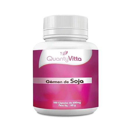 Gérmen de Soja em cápsulas - 100 cápsulas - 60g - QuantyVitta