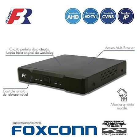 DVR FOCUSBRAS FBR 4 CANAIS 4 EM 1 FLEX