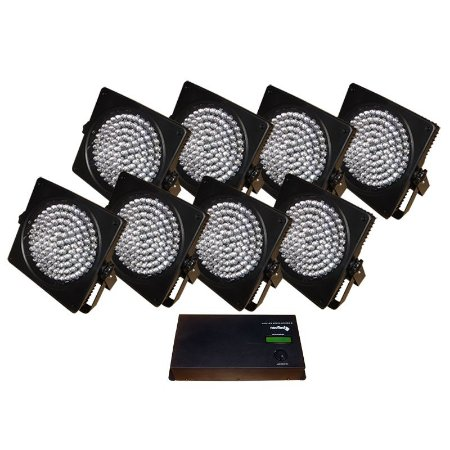 Kit neo led spot system 8 dmx