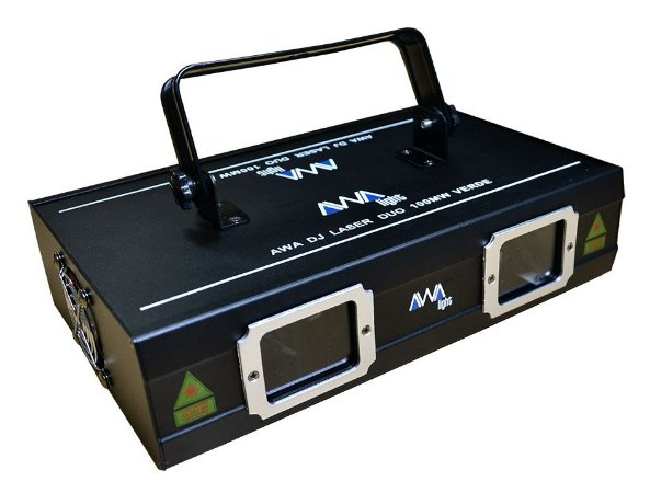 Laser awa duo 100MW verde dmx
