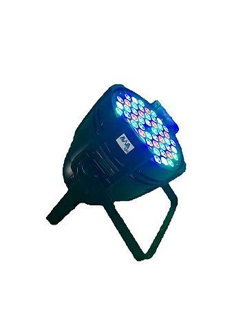 Refletor par led 54 x 3w rgbw awalight