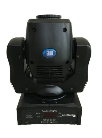 Mini moving head spot 60w