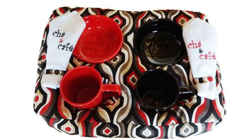 Almofada Chá e Café Duplo