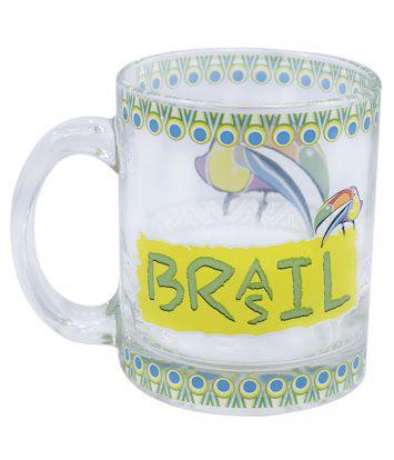 Caneca Brasil - Tucano