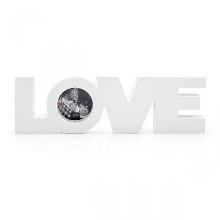 Porta Retrato Love Branco