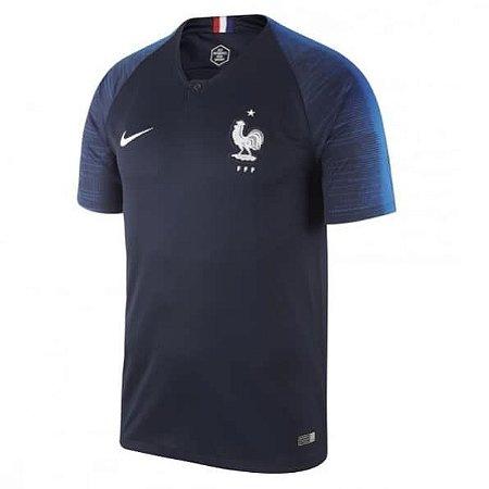 Camisa Seleção da França Home 2018 2019-S Nº - Rei do Futebol 35d07f71697e0