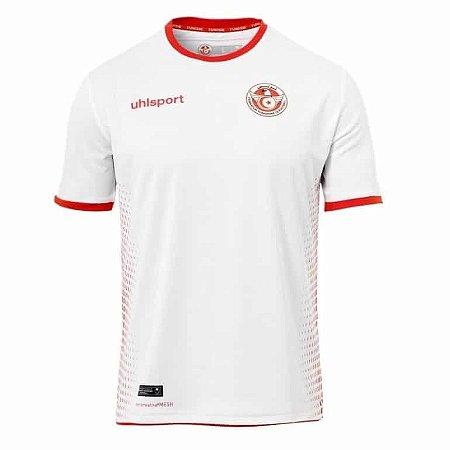 Camisa Seleção da Tunisia Home 2018 2019-S Nº - Rei do Futebol bbbd5f695513f