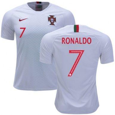9b22979ff6 Camisa Seleção de Portugal Away 2018 2019-Ronaldo Nº7 - Rei do Futebol