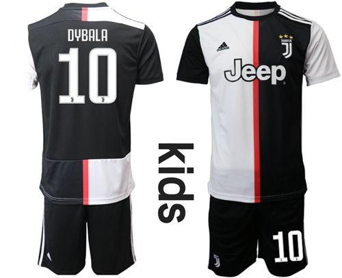huge discount 84da8 2da12 kit Infantil Juventus Home 2019/2020-Dybala Nº10
