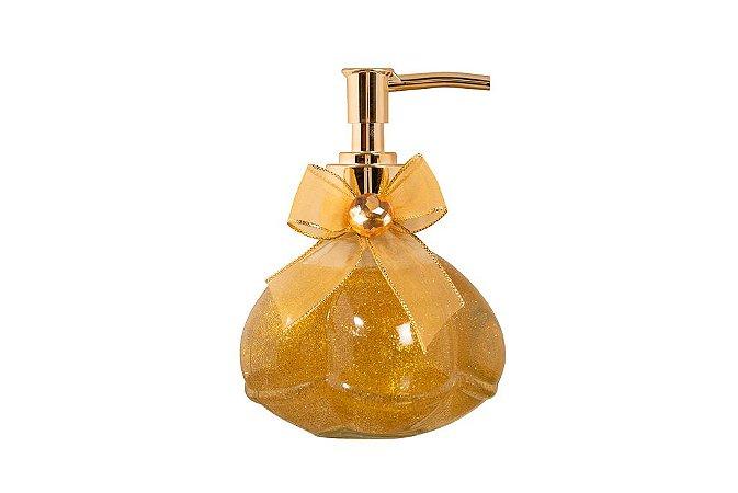 Sabonete Líquido Glitter dourado 250 ml - Flor do Oriente