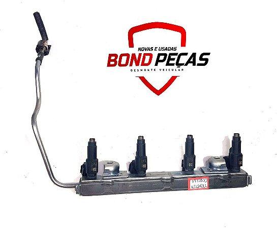 Flauta com bicos injetores Toyota Corolla XEI 15 á 17 original