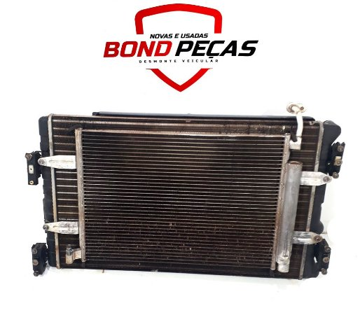 Conjunto de radiador e condensador Fox 1.6