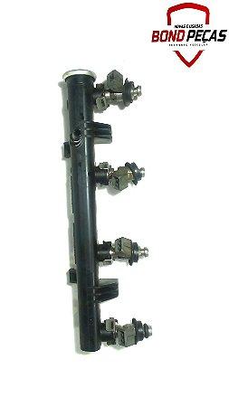 Flauta com os bicos injetores do Fox 1.0