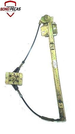 Maquina de vidro manual dianteiro lado esquerdo do Uno