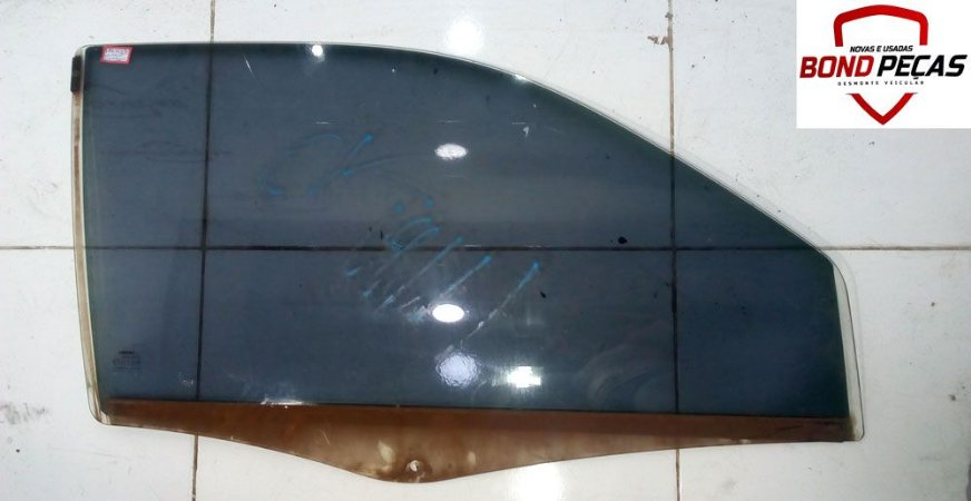 Vidro da porta dianteira lado direito do Palio 96 á 2015 2 portas