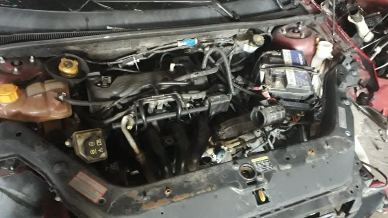 Motor do Ford Fiesta Rocan 1.6 Flex