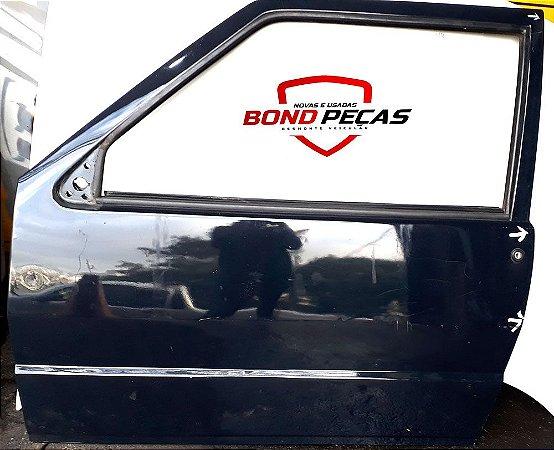 Porta Do Fiat Uno 2 Portas - Lado Esquerdo - 84 À 2004
