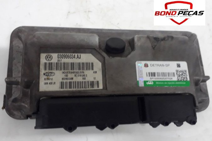 Modulo Injeção Eletrônica Vw Fox 030906034.AJ 2013
