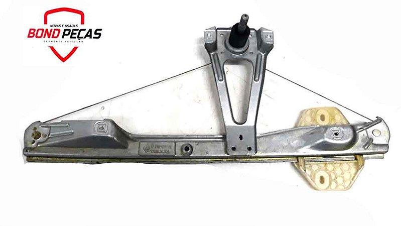 Maquina De Vidro Clio  Manual Traseira Direita 1999 á 2012