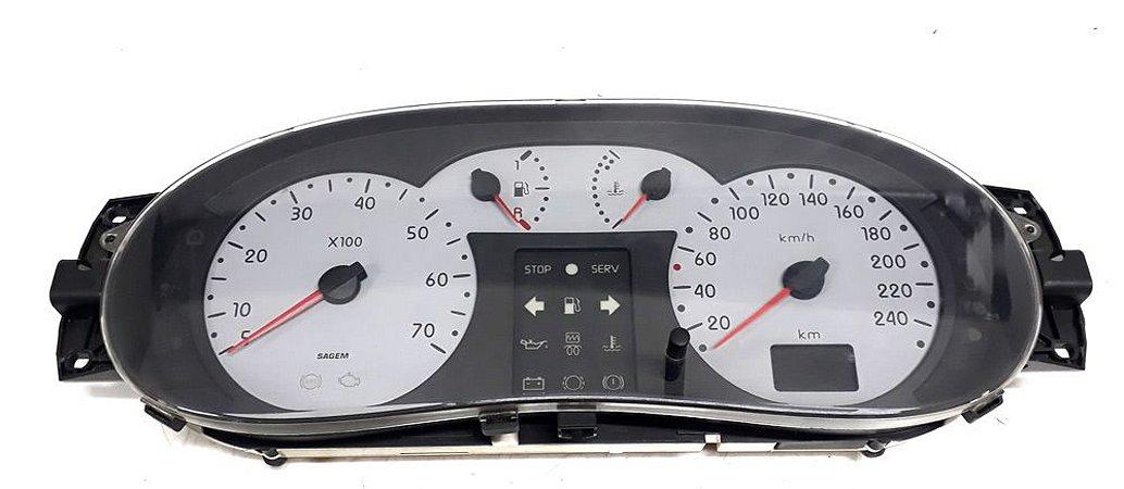 Painel de instrumentos velocímetro Renault Clio / Scenic 1.6 de 1999 à 03