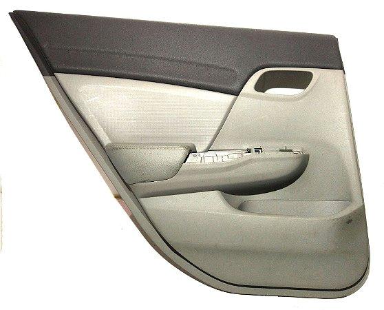 Forro de porta Civic traseiro esquerdo 2012 a 2015