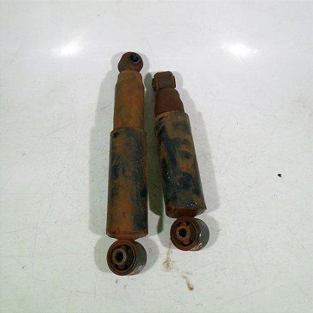 Par de amortecedor traseiro Meriva 03 a 12