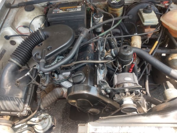 Motor vw AP 2.0 carburado à gasolina